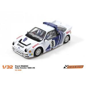 Ford RS200 Swedish Rally 1986 -R Anglewinder