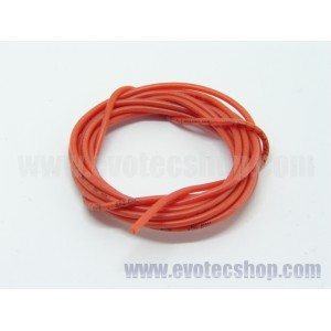 Cable extraflexible 1,3 mm ROJO