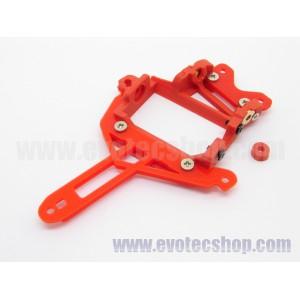 Soporte motor Flat Pro V12 LMR /911GT1 offset 0.75