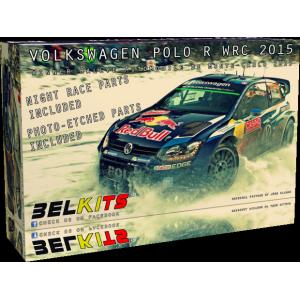 Kit 1/24 VW Polo WRC 2015 Monte Carlo