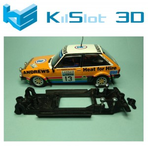 Chasis lineal black Talbot Sunbeam Lotus SCX