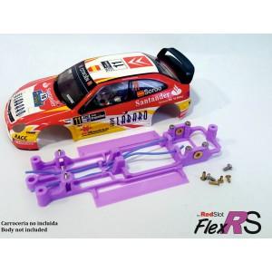 CHASIS 3D FLEX RS CITROEN XSARA PRO SCX RED SLOT FRS-003