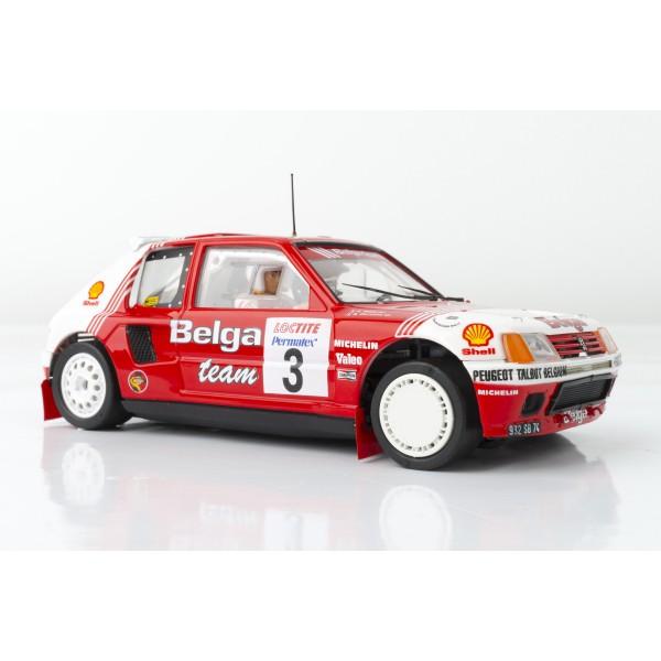 Peugeot 205 T16 Evo1 Belga Rally Ypres 1985 DARNICHE - MAHE SRC 03602