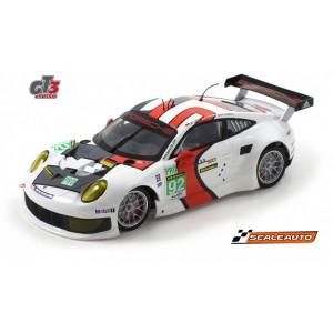 Porsche 991 RSR 1/24 24H de Le Mans 2013 n92 Scaleauto SC7048R