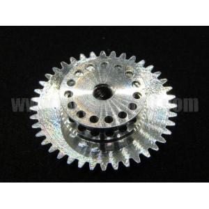 Corona 40 Diam 21mm+Polea 15D Aluminio Mitoos M224