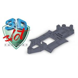 Chasis LINEAL Alpine Team Slot 3Dslot C3DS-L018
