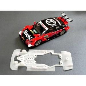 Chasis Audi A5 DTM compatible Scalextric Kat Racing K/004V