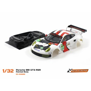 Carroceria Porsche 991 GT3+lexan Scaleauto SC6066B