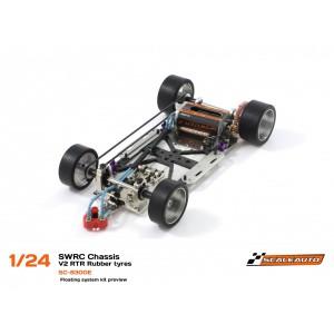 Chasis SWRC 1/24 premontado 2017 Scaleauto SC8300D