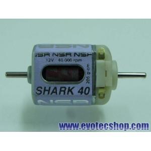 Motor Shark 40000 164 Gr/cm 12V Caja corta