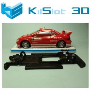 Chasis lineal black Peugeot 307 WRC NINCO Kilslot