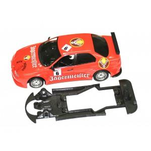 Sloting plus Chasis plastico 3D ALFA 156 GTA Fly