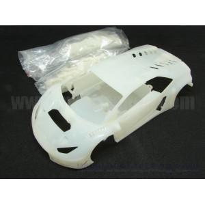 Carrocería Huracán GT3 en kit blanca sin pintar