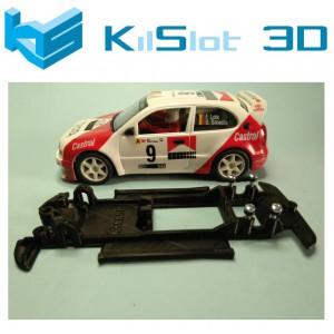 Chasis lineal black Toyota Corolla WRC NINCO