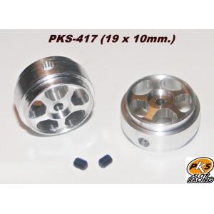 Llantas pesadas aluminio 19x10 mm Raid x 2