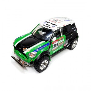 Mitoos M801 Mini All4 302 DAKAR 2012 Peterhansel