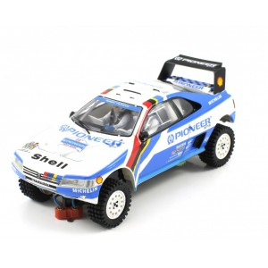 Peugeot 405 T16 Grand Raid Winner Paris Dakar 1989