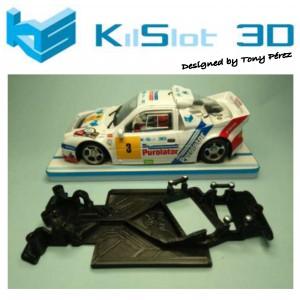 Chasis angular Race SOFT 2018 FORD RS200 MSC
