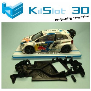 Chasis angular Race SOFT 2018 Volkswagen Polo WRC