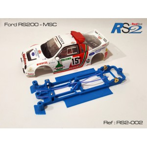 CHASIS 3D - FORD RS200 MSC
