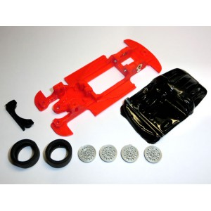 Mustang Slot Chasis 600 Abarth 1000lineal+accesorios