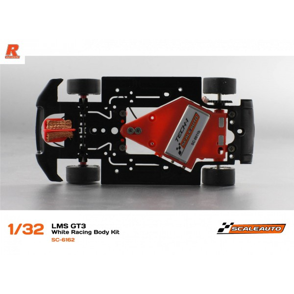 Scaleauto 6162 Audi R8 GT3 2016 White Racing Kit Anglewinder