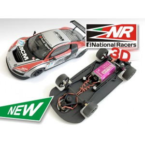 Chasis 3D Audi R8 Ninco AW/SW/Inline