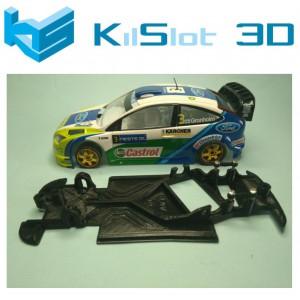 Chasis angular Race SOFT  2018 Ford Focus WRC Ninc