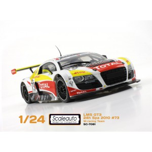 Audi R8 GT3 Spa 2010 W-Racing DHL