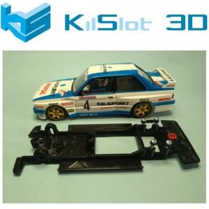 Chasis 3D Lineal Black BMW M3 SCX Altaya.