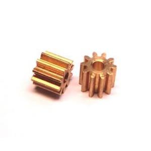 Piñon 10 dientes 6mm de diametro LARGO