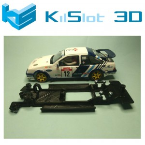 Chasis lineal black Ford Sierra RS Cosworth SCX