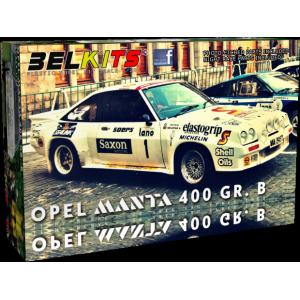 Kit 1/24 Opel Manta 400 Gr.B Jimmy McRae 1