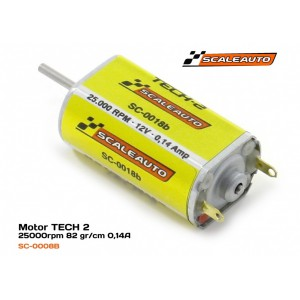 Scaleauto SC 18B Motor Slim Can de 25000 rpm