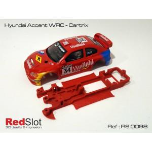CHASIS 3D HYUNDAI ACCENT WRC CARTRIX