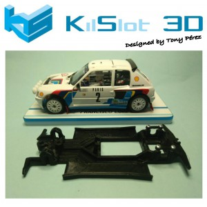 Chasis Lineal Race SOFT 2018 Peugeot 205 T16 OSC