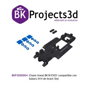 Chasis lineal BK18 EVO1 compatible con Subaru N14