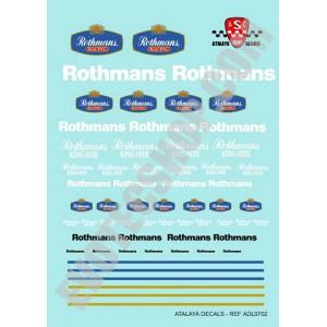 Calca 1/32 Rothmans