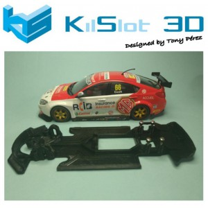 Chasis Lineal Race SOFT MG 6 SUPERSLOT TURISMOS