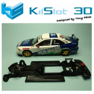 Chasis Lineal Race SOFT VOLVO S60-R SCX TURISMOS