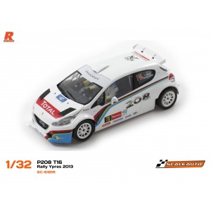 Scaleauto SC 6181R Peugeot 208 T16 Rally Ypres