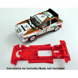 Chasis Lancia S4 lineal compatible Superslot