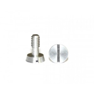 Kit tornillos aluminio para bancada M2,1 x 6,5 2ud