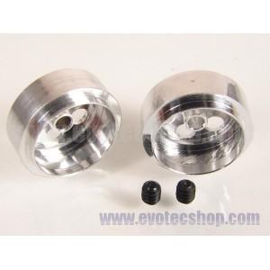 Llantas Aluminio 3/32 resistencia (x 2)