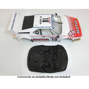 Cockpit lexan rally M1 compatible con Fly