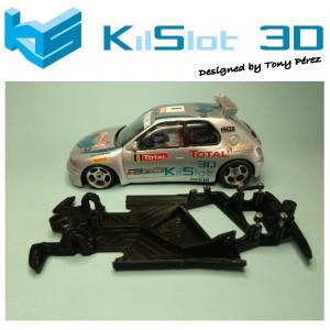 Chasis angular Race SOFT 2018 Peugeot 306 Kitcar N