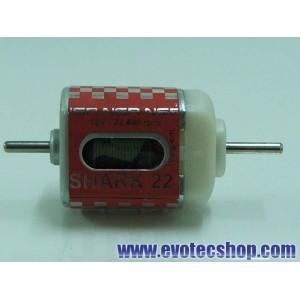 Motor Shark 22Krpm 168gr/cm 12V Caja Corta