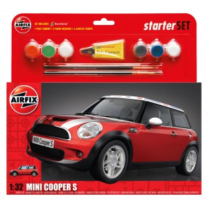 BMW Mini Cooper S Kit 1/32 para montar