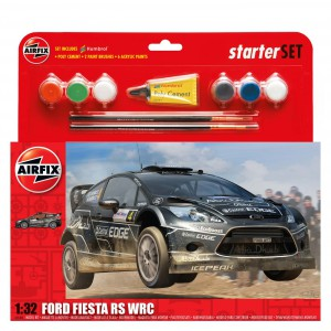 Ford Fiesta WRC Kit 1/32 para montar y decorar