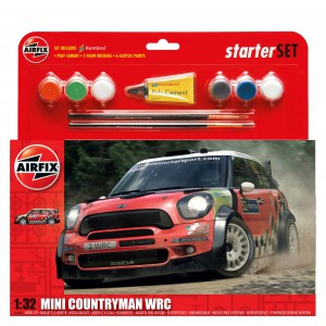 MINI Countryman WRC Kit 1/32 para montar y decorar